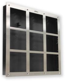 VTOF009-VTOB115 rámeček + zápustná krabice pro 9 modulů