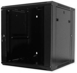 ZH.6609.901 nástěnný, výklopný, 9U, 600 x 600, sklo