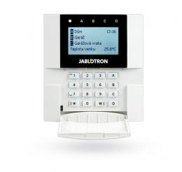 JA-110E sběrnic. příst. mod. s LCD, kláv. a RFID