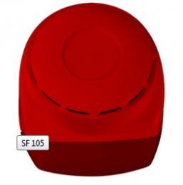 SF 105 - červená vnitřní siréna a maják