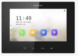 """DS-KH6220-LE1 IP videotelefon 7"""", LAN, černý, tlačítkové ovládání"""